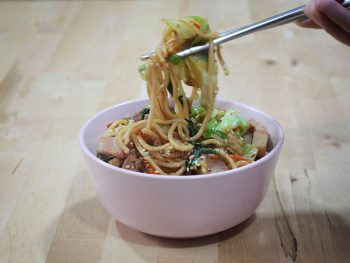Yakisoba: Japanese Stir Fried Noodles recipe