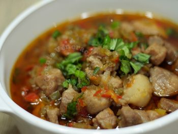Italian Sweet and Sour Pork Stew (Spezzatino In Agrodolce)