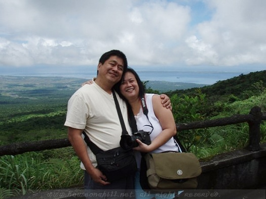 The view from Mount Mayon