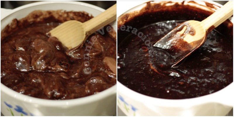Eggless instant chocolate mousse