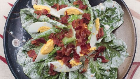 Lettuce and Egg Salad