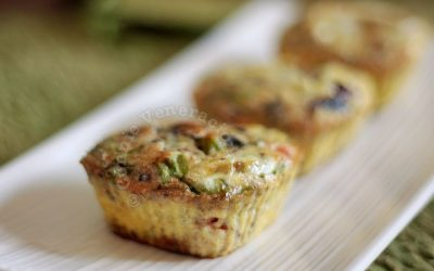 Omelet Cupcakes