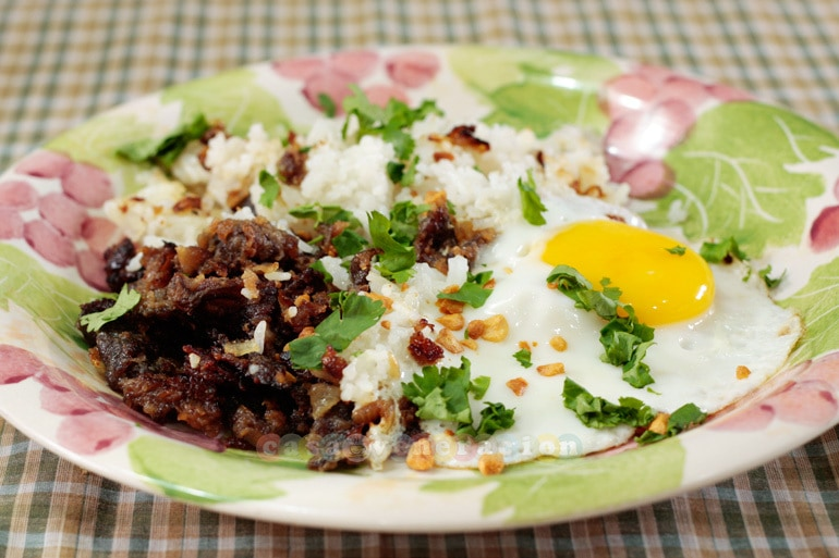 Tapsilog and the accidental tapa