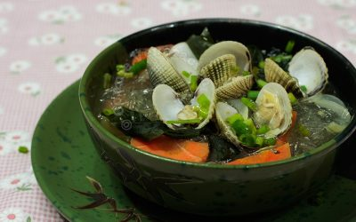 Clams Vermicelli Soup
