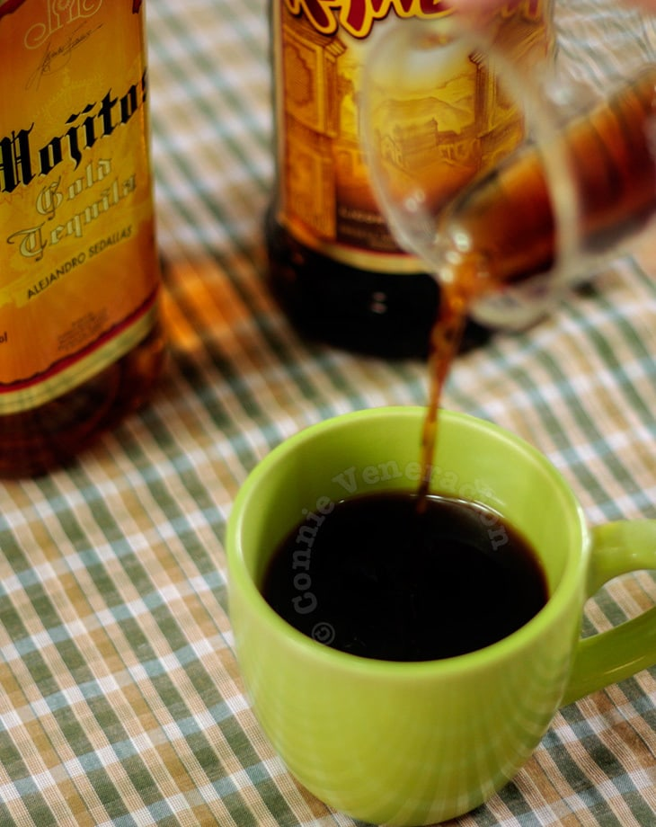 Tequila Kahlua coffee is not gourmet coffee