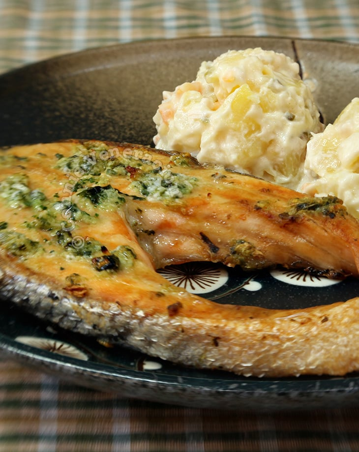 Broiled Salmon With Lemongrass and Ginger