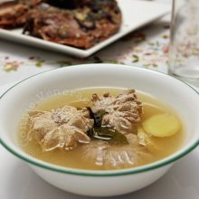 Thai-inspired Fish Roe Soup