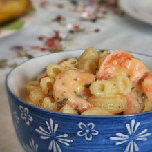 Mac and Cheese… and Shrimps