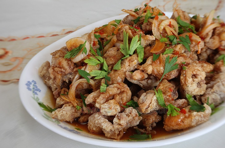 Chicken with sweet chili sauce