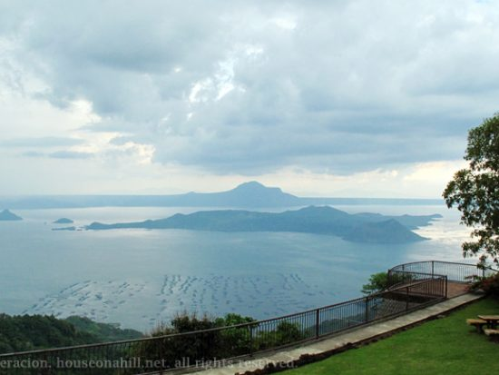 Taal Volcano and Mount Macolot