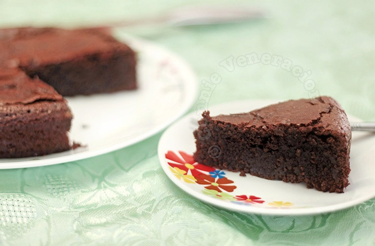 The most sinful chocolate cake