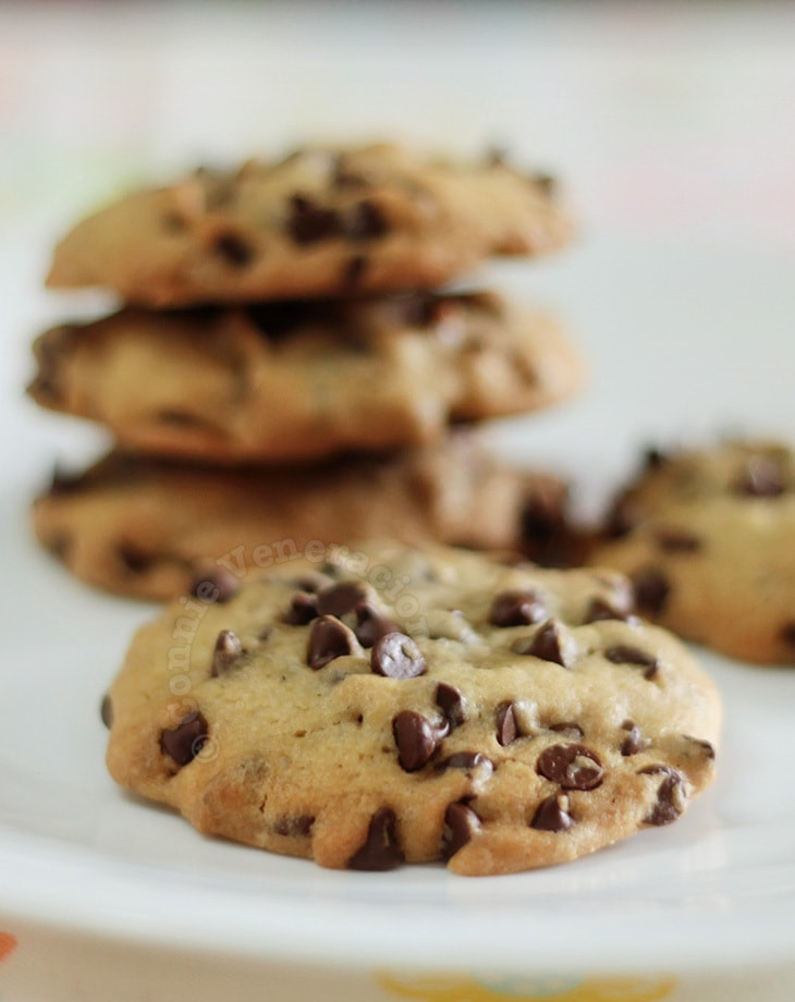 Chocolate chip cookies, the Toll House recipe