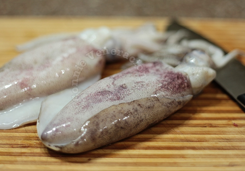 How To Clean Fresh Whole Squids | casaveneracion.com