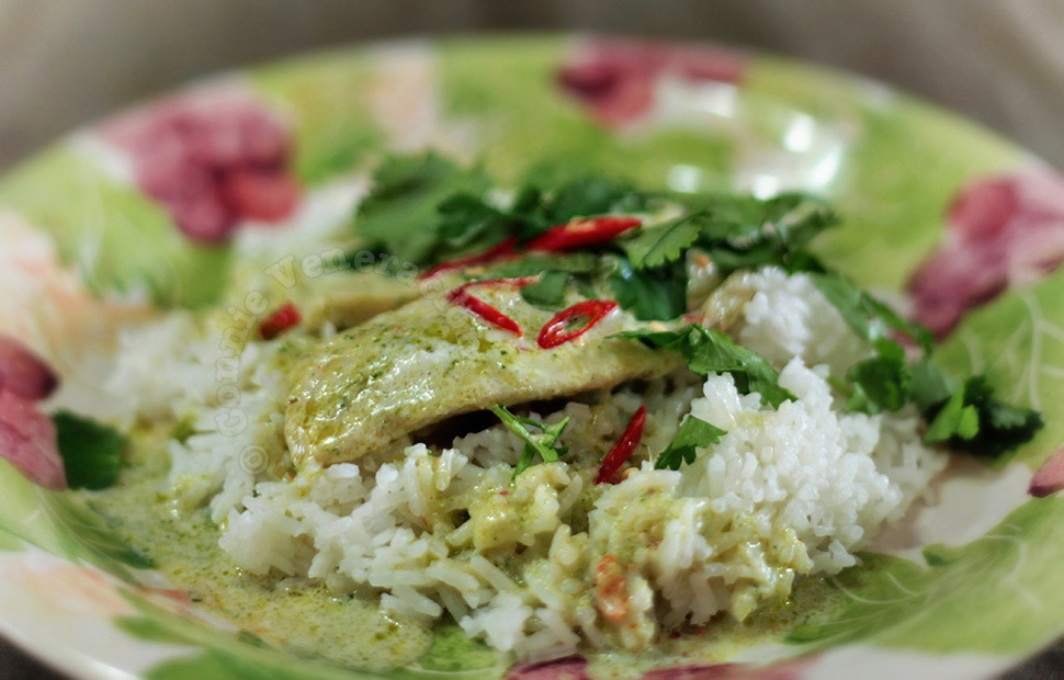 Spicy Tilapia With Coconut Cream | casaveneracion.com