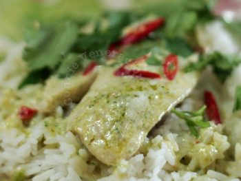 Spicy Tilapia With Coconut Cream