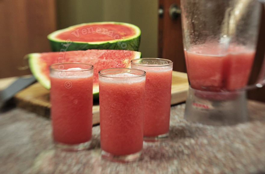 Watermelon Smoothie | casaveneracion.com