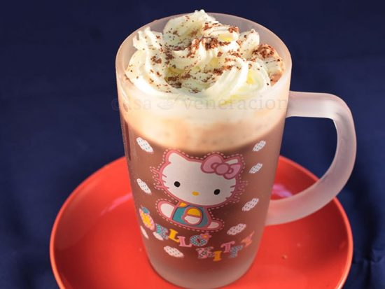 Chocolate mint coffee: the over 18 version