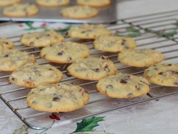 Chocolate Chip and Walnut Cookies