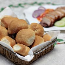 Pandesal (home baked, of course)