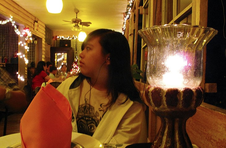 New Year's Eve dinner at Vieux Chalet