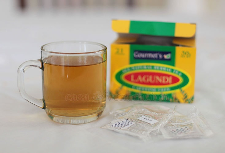 Lagundi (Vitex Negundo) brew is a cure for cough