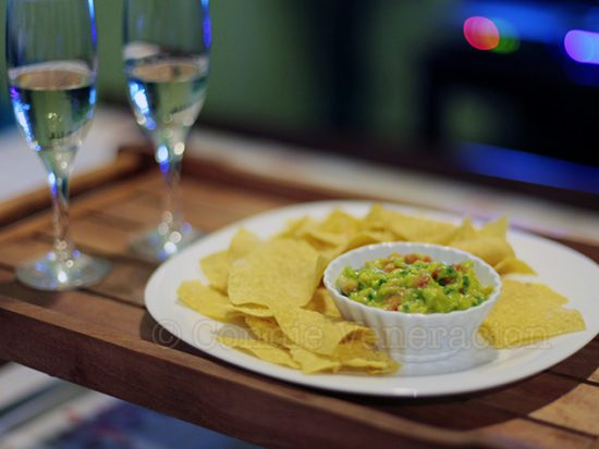 Guacamole: a great dip for tortilla chips
