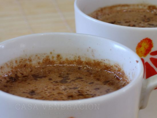 5-minute Tablea Coffee