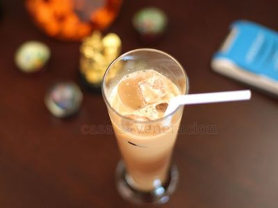 Making iced coffee is not exactly the same as making a hot cup of coffee. There are two tricks to achieve that wonderful balance so that your iced coffee tastes like it was mixed by a professional barista.