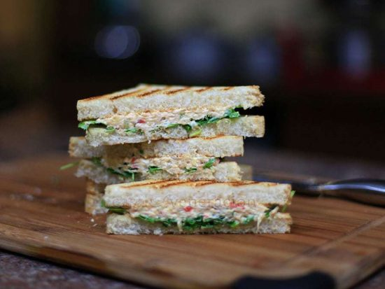The ultimate chicken salad sandwich