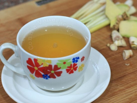 Lemongrass and ginger brew
