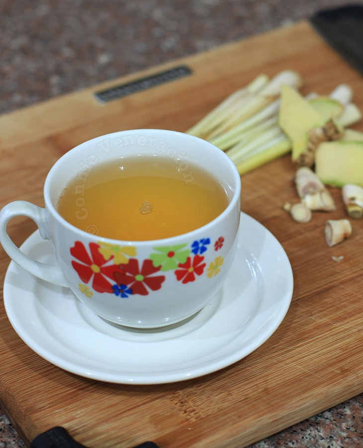 Lemongrass and Ginger Brew | casaveneracion.com