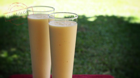 How to make: Mango-lemon lassi