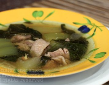 A tip about using meat, chicken or fish fillets in soup dishes