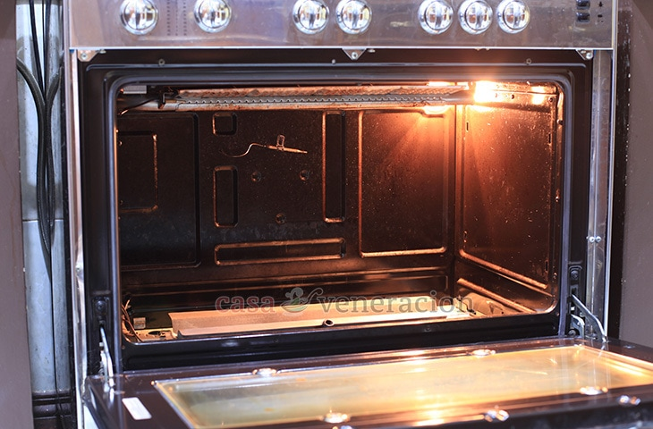 how to clean oven after fire