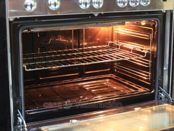 How to clean the oven