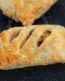 Chicken turnovers (a.k.a. chicken pie)