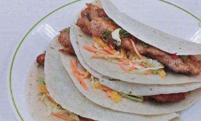 Fish Tacos, Asian style