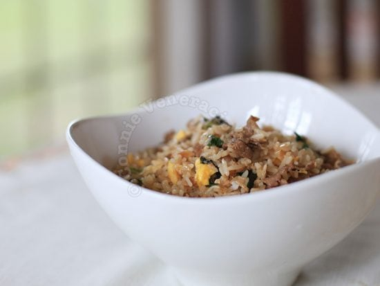 Tapa fried rice