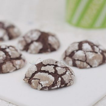 Christmas Cookie Series: Chocolate Crinkles