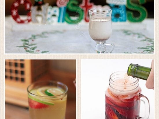 Serving cocktails on a holiday party? Choose brightly colored cocktails to help create a festive mood. Or give classics a new spin. Check this list.