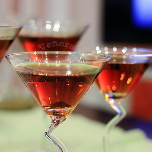 A la dark chocolate martini