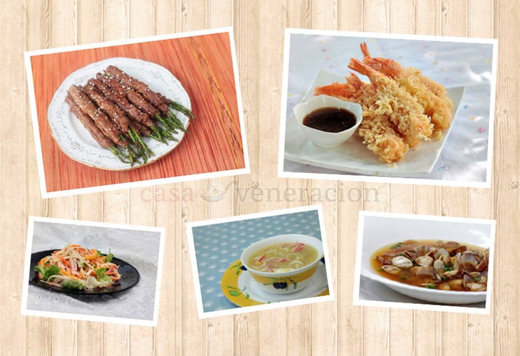 For you who are not so much into traditional Christmas menus and you love Japanese food, you want want to consider a meal that consists of Japanese dishes.