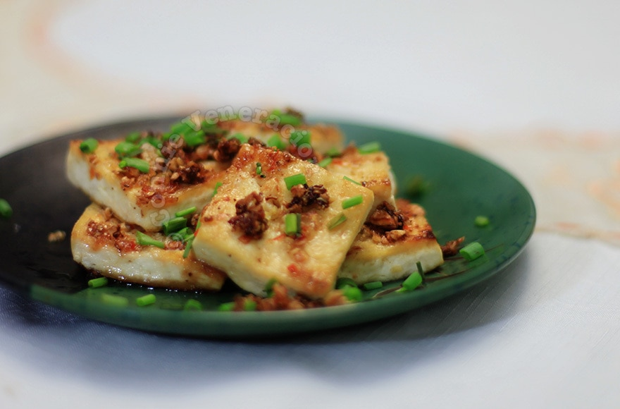 Lemongrass and chili stuffed tofu | casaveneracion.com