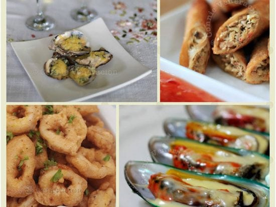 Seafood-centric Holiday Meal