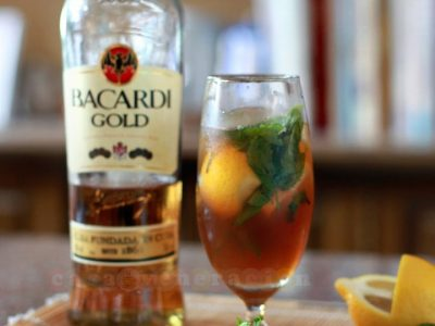 Iced tea mojito recipe