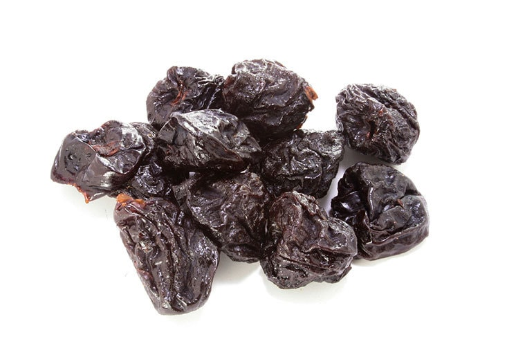 Constipated? Eat prunes or drink prune juice!