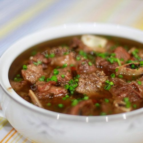 Chinese-style braised beef