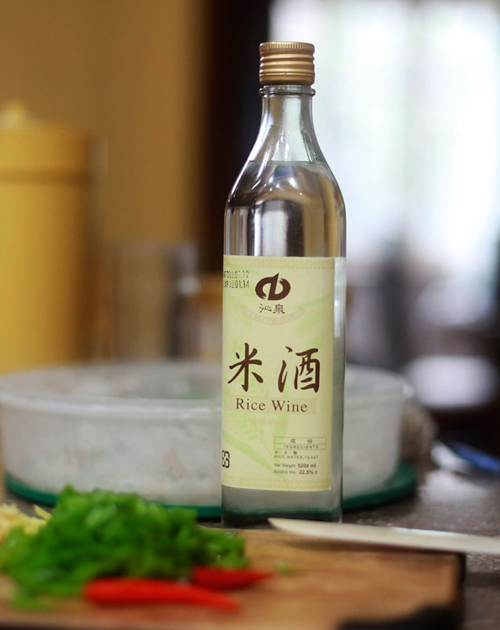 Rice wine for Chinese-style braised beef