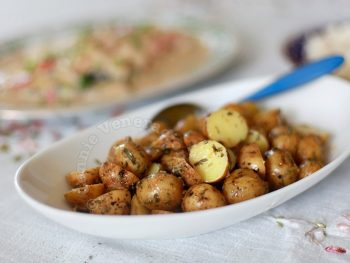 Pearl Potato Salad With Garlic and Tarragon Dressing