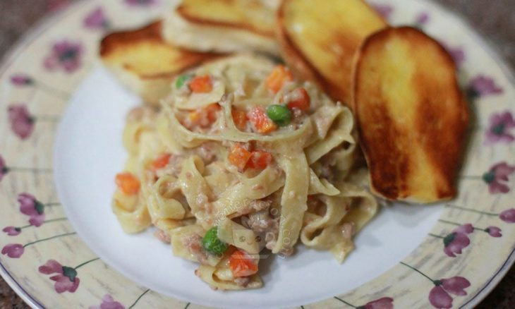 Creamy Pasta with Sausage Recipe
